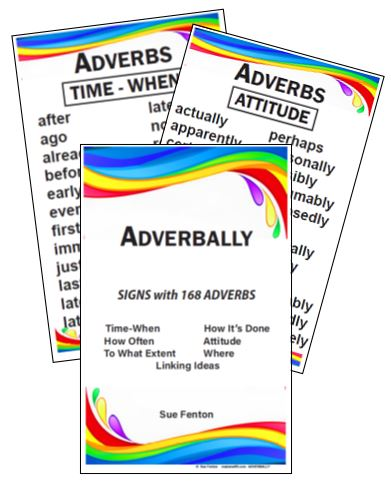 Adverbally