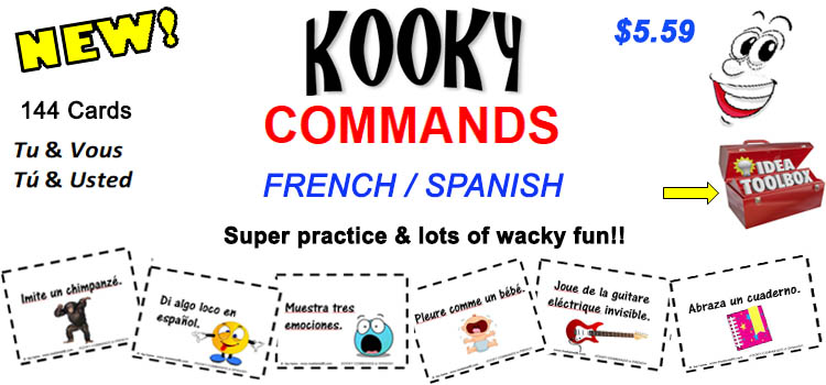 Kooky Commands