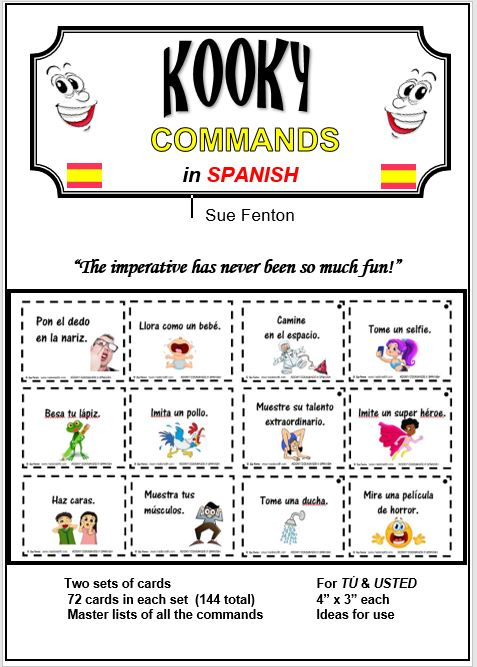 KOOKY COMMANDS in SPANISH