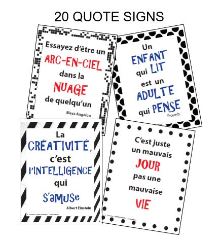 QUOTES IN FRENCH