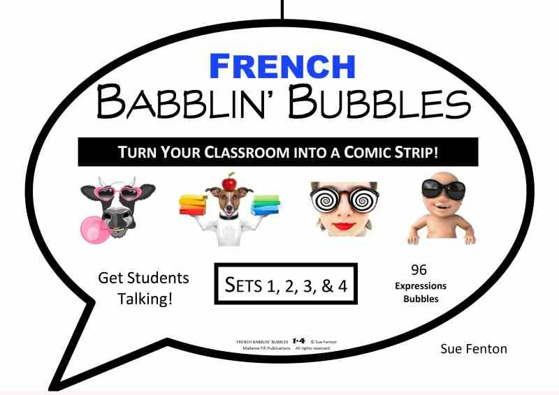 FRENCH BABBLIN' BUBBLES All Sets 1-4